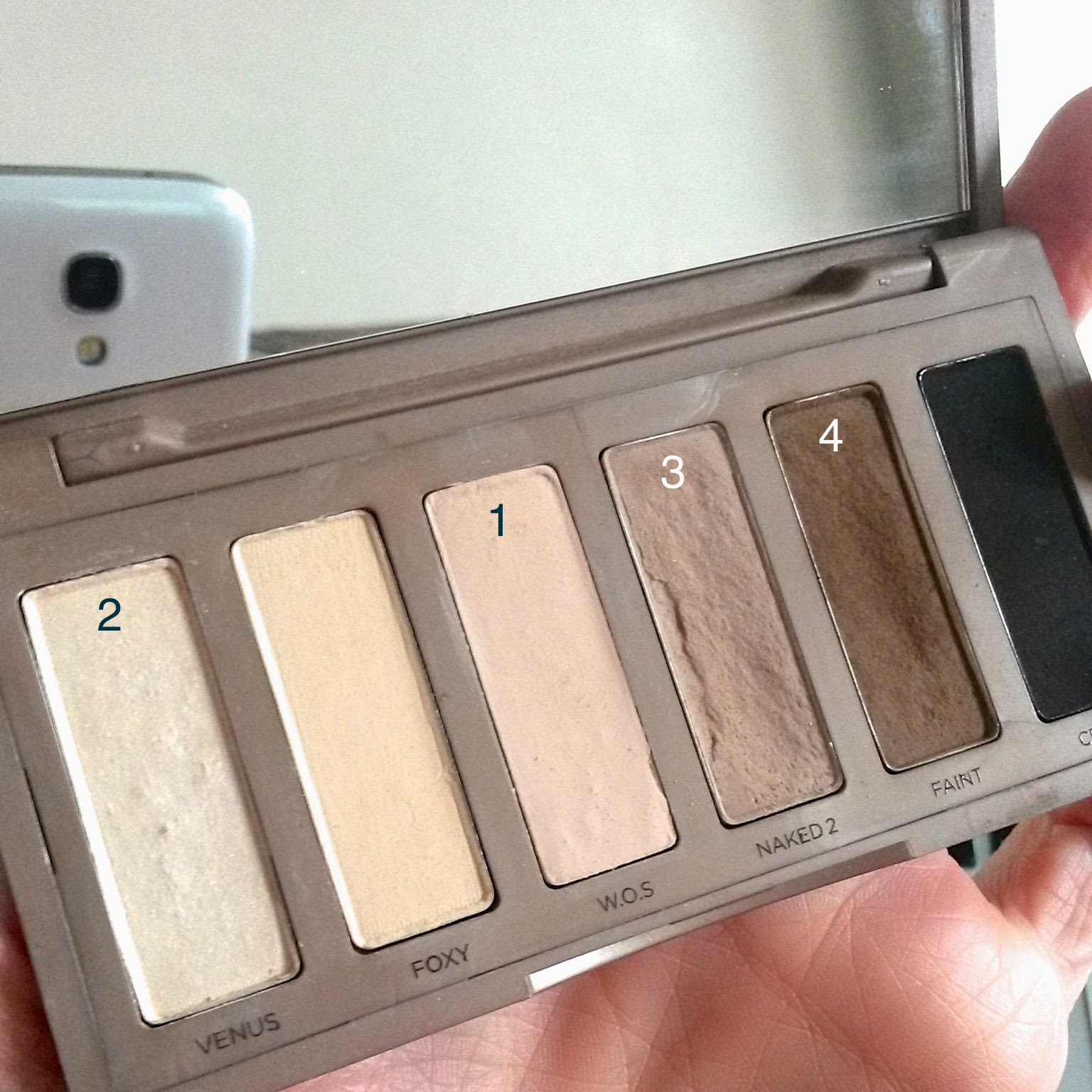 Valentine's Urban Decay Naked Basics Palette Makeup