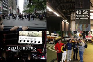 Viagem, Dicas, Relato, viajando com criança, Bebe, Disney, New York, Nova York, EUA, Times Square, Red Lobster, Metro