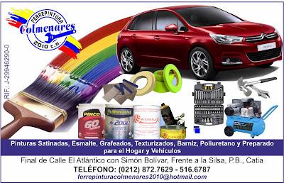 FERREPINTURAS  COLMENARES 2010, C.A. en Paginas Amarillas tu guia Comercial