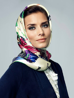 Silk Head Scarves