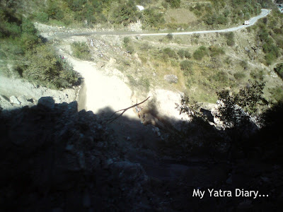 Snake roads encountered in the Garhwal Himalayas during the Char Dham Yatra