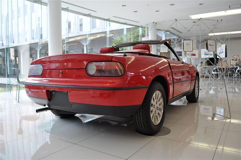Eunos Roadster, Mazda MX-5, Miata, koncept, wersja, japońskie samochody, Duo 101, V705