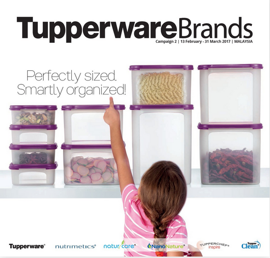 Tupperware Campaign : NEW!!!