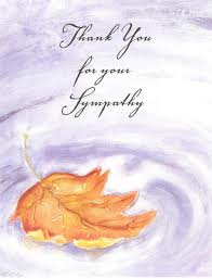 Thank You Messages! : Sympathy/Condolence