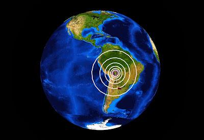 SISMO DE 5,3 GRADOS SACUDE FRONTERA BOLIVIA-CHILE, 09 DE OCTUBRE 2013