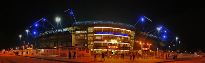 Metalist Stadium Kharkiv estadio Ucrania Ukraine soccer futbol