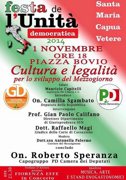 FESTA DELL'UNITA DEMOCRATICA