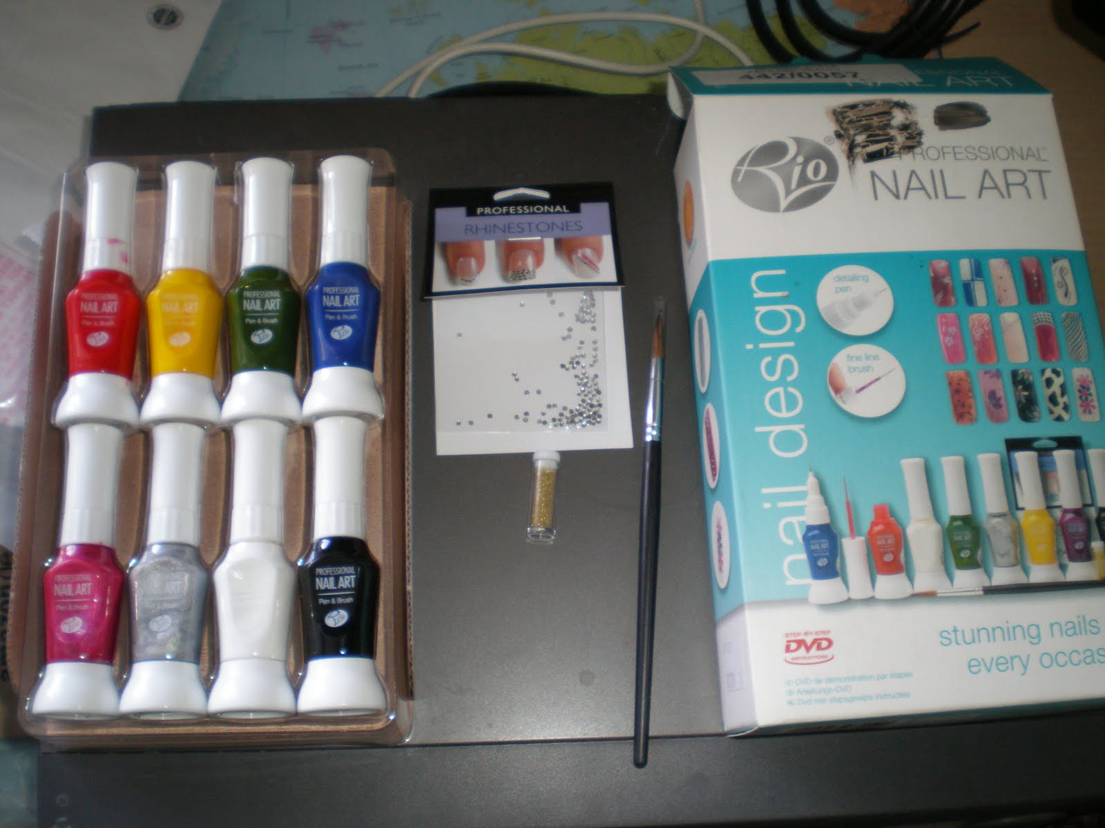 The Sleepy Magpie Rio Nail Art Kit