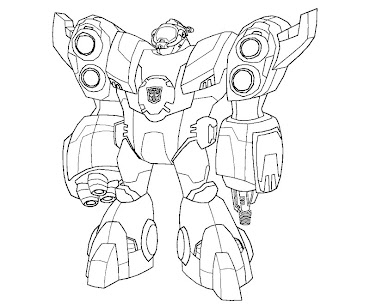 #15 Transformers Coloring Page