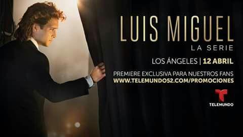 Luis Miguel, la serie → Estreno 22 de abril