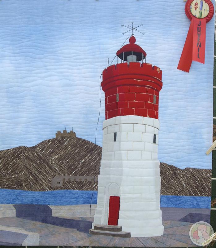 Ganador de la categoría juvenil de patchwork en Sitges