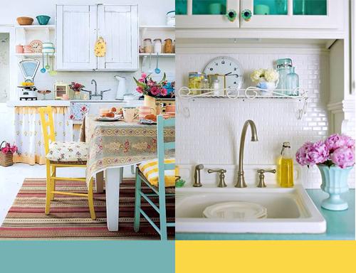 flora fricker design and illustration blue yellow kitchens