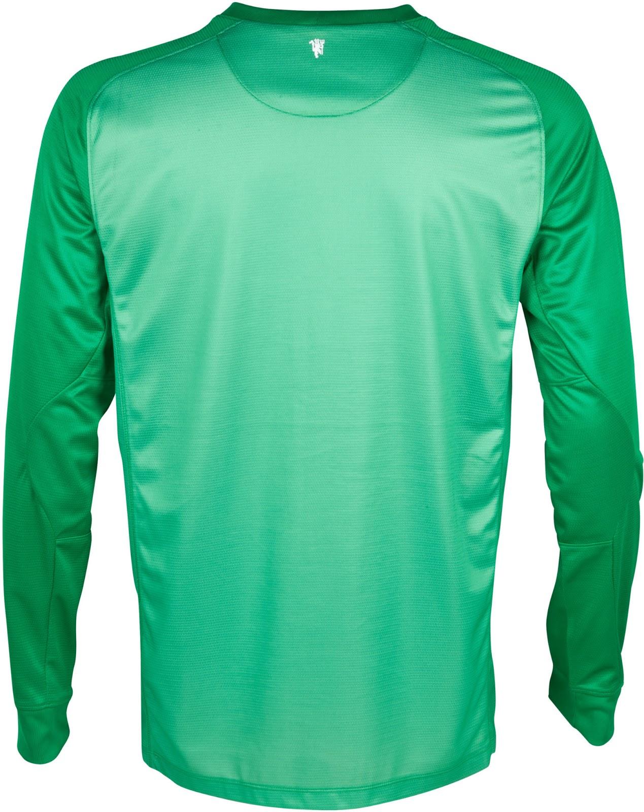 Manchester united 13 14 2013 14 home kit goalkeeper kits released