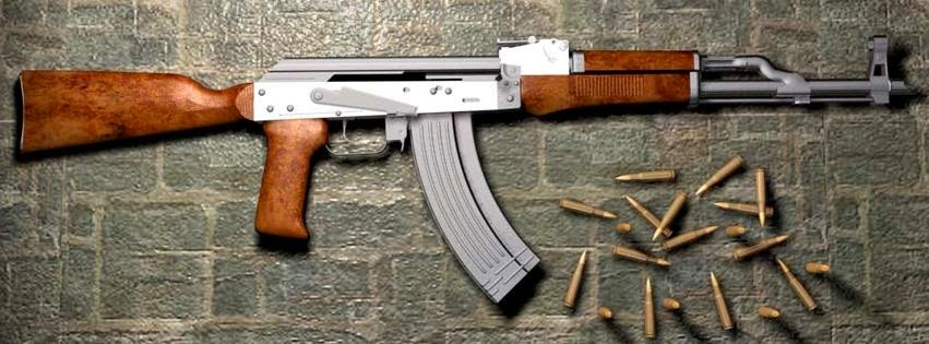 Facebook Timeline Cover Of Silver AK45.