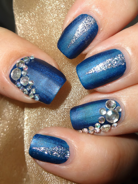wendy's delights blue & silver