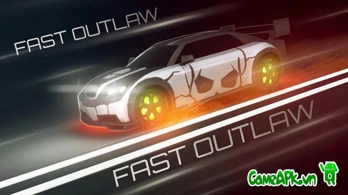 Fast Outlaw: Asphalt Surfers v1.832 hack full vàng cho Android