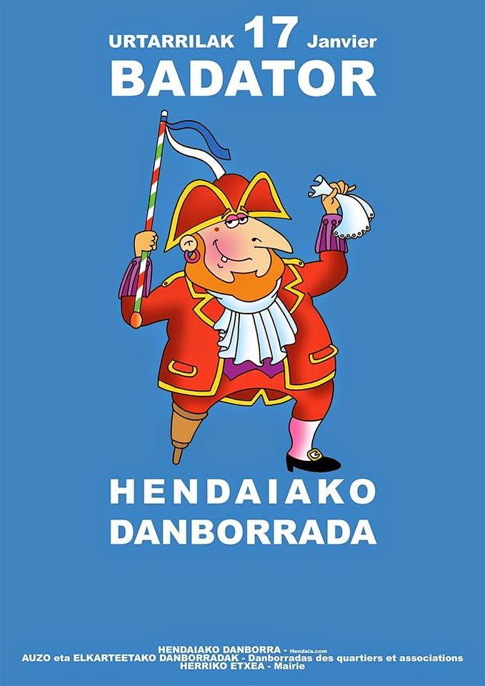 HENDAIAKO DANBORRADA