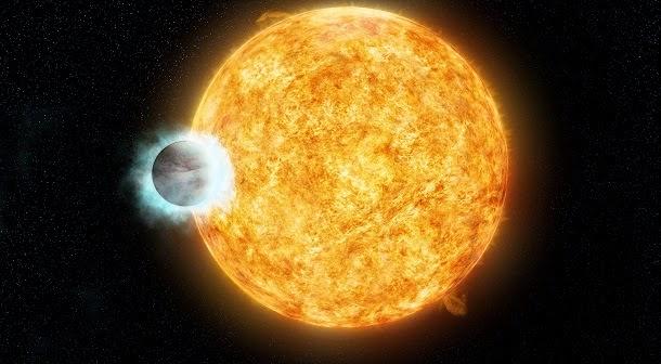 Enorme planeta está a fazer a sua estrela envelhecer (com video)