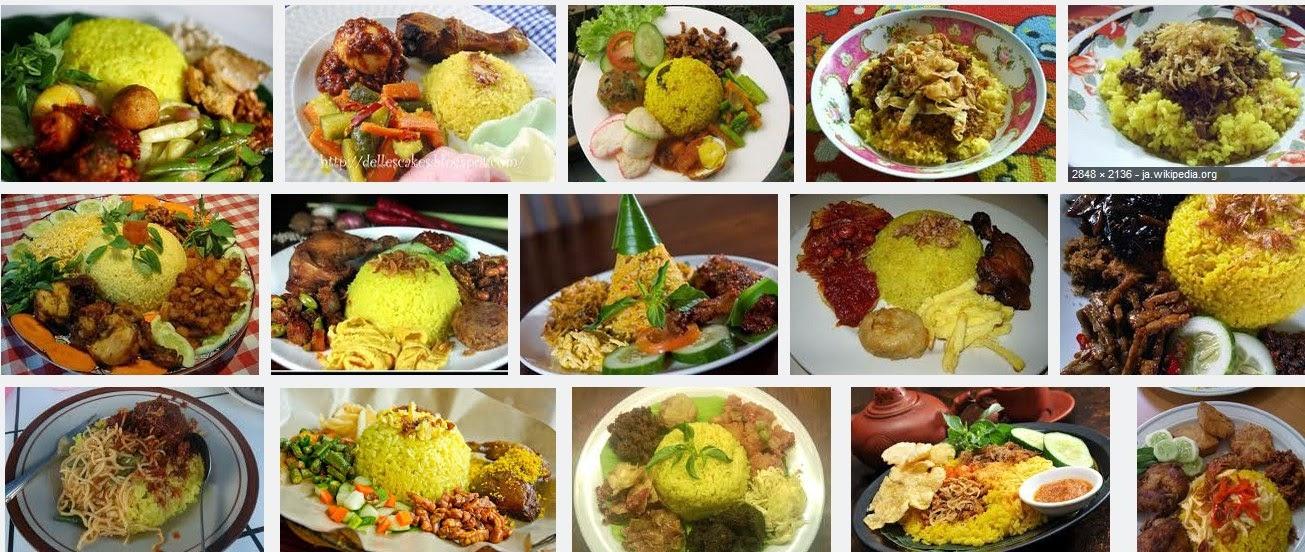 cara membuat resep masakan nasi kuning