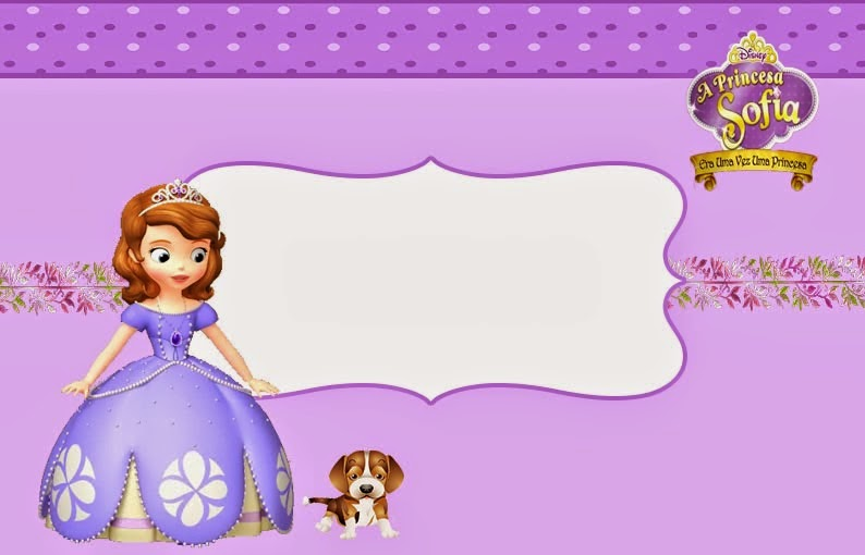 Lindas Invitaciones de Princesa Sofia para Imprimir Gratis ...
