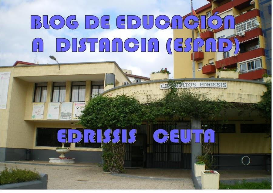 EDUCACIÓN A DISTANCIA  ESPAD       EDRISSIS