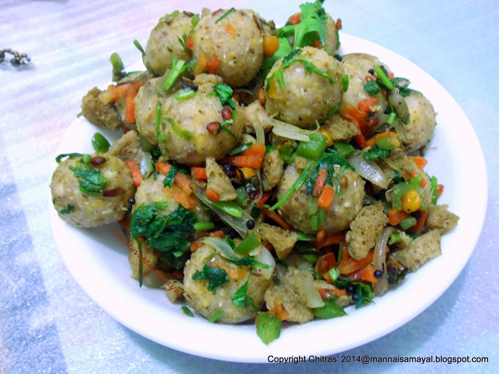 Buckwheat Neer Kozhukattai [ Buckwheat Dumpling ]