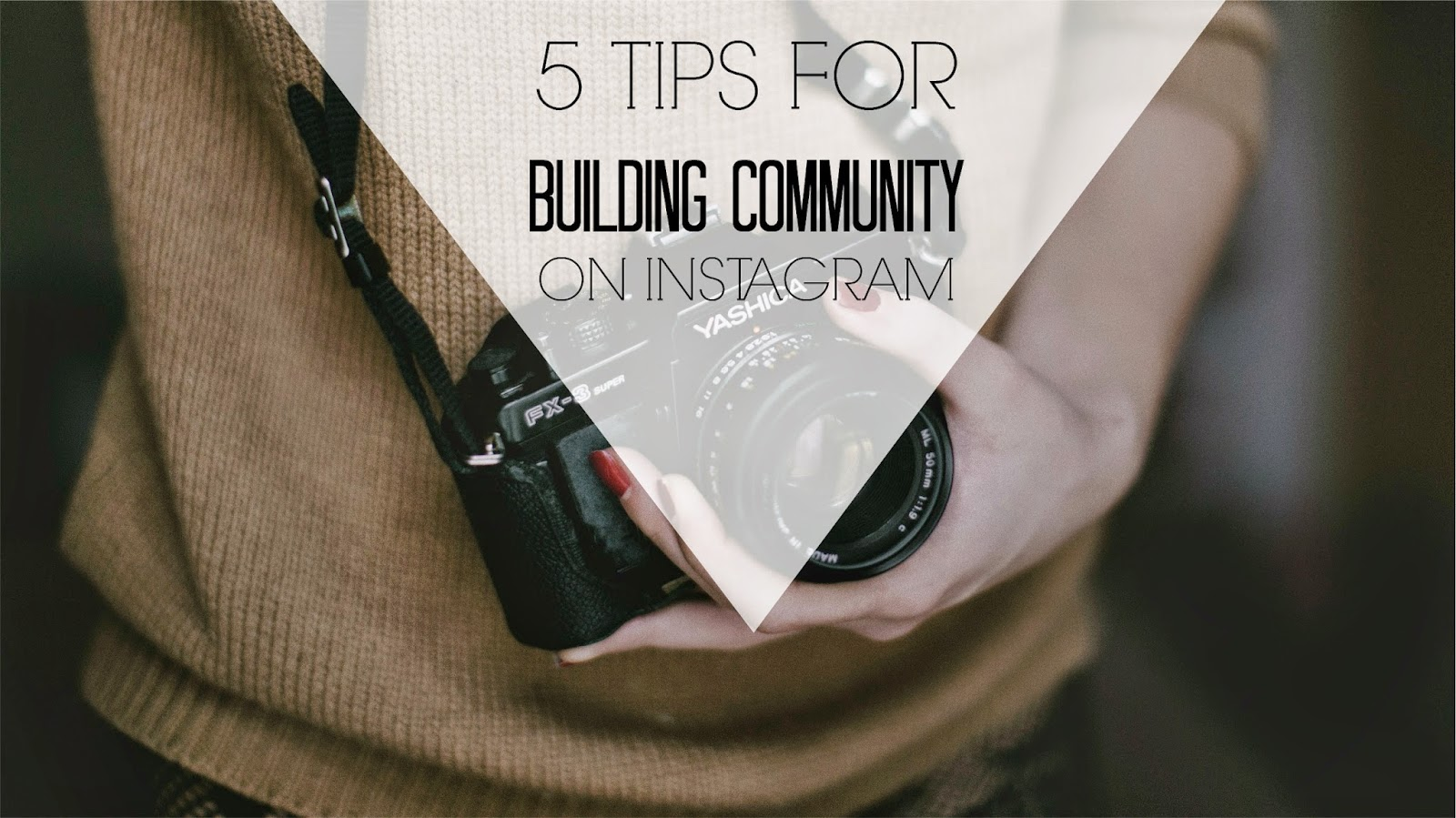 Building community on Instagram