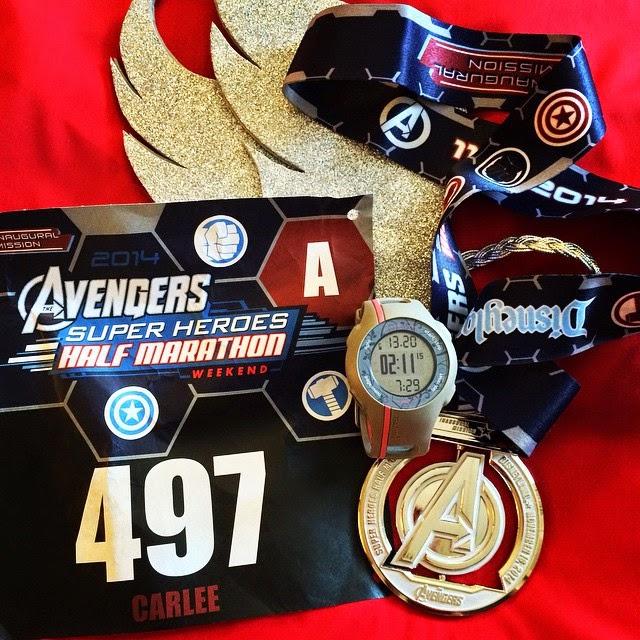 Avengers Half 2014