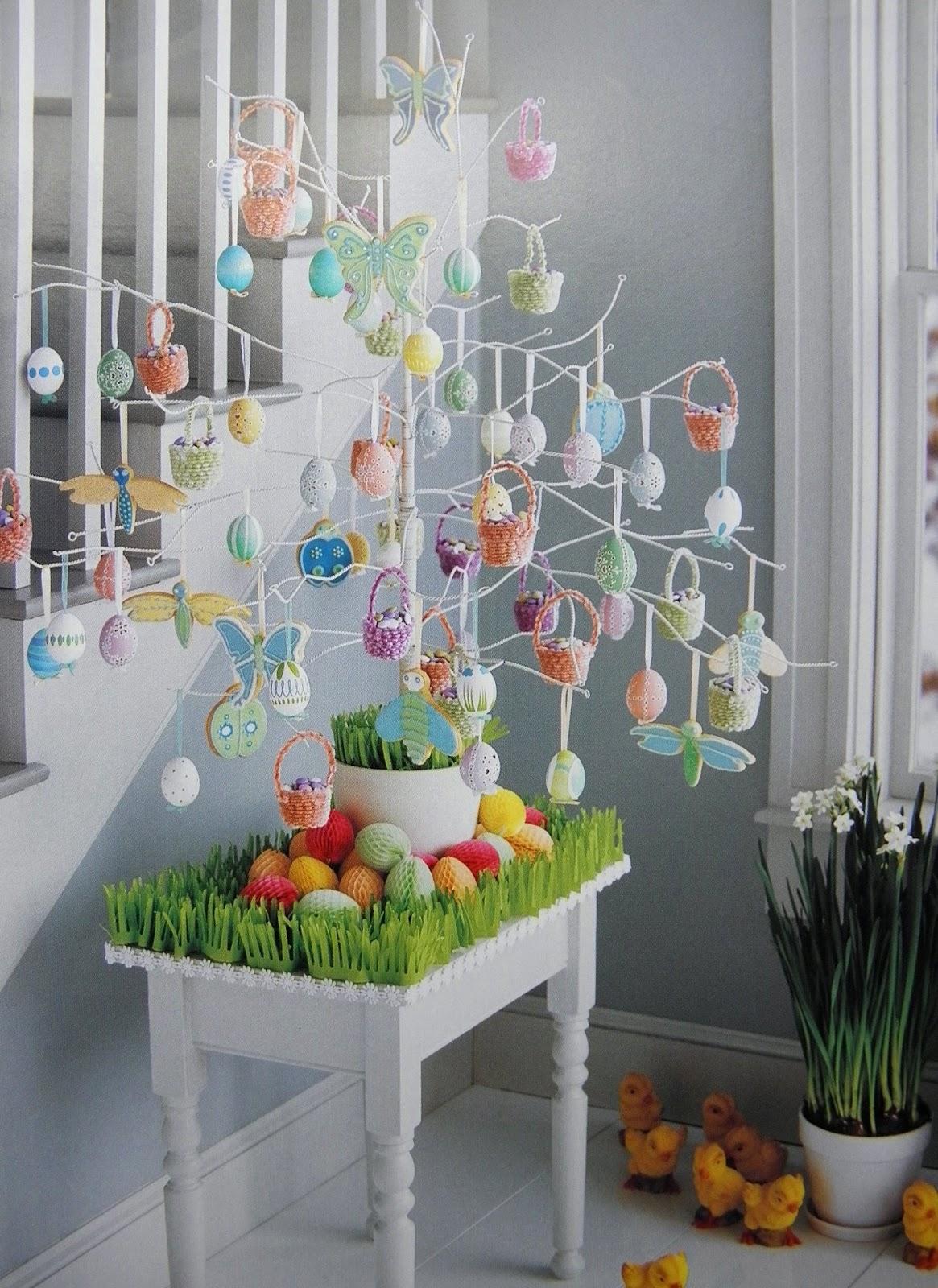 Украсить дом своими руками к пасхе