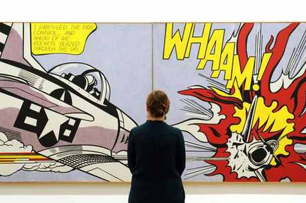 Artimus prime 5th bam onomatopoeia and roy lichtenstein for our next project we will take a look at onomatopoeia a fun literary component that you are learning about in your english classes voltagebd Images