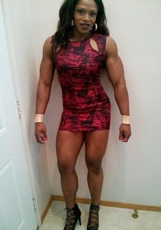Bodybuilders femme nue vidéo