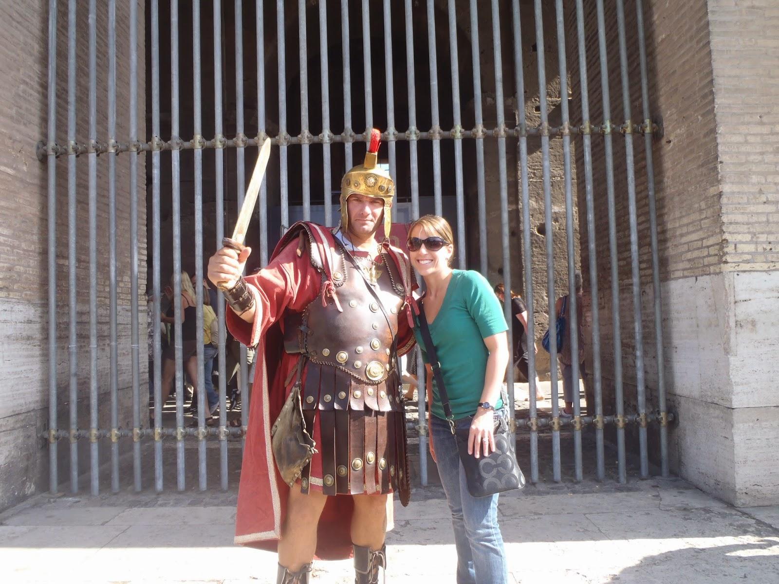 Gladiator colosseum rome