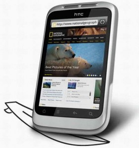 HTC Wildfire S smartphone pre-order at Bell Canada