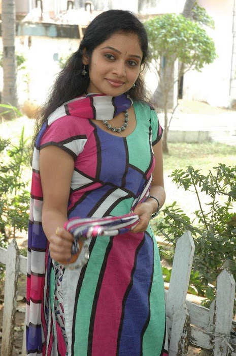 Keerthi Sagakkal in a Multi Color Churidar, Churidar Styles online photo gallery
