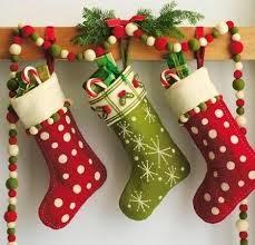 medias para la navidad