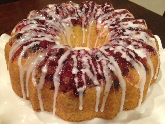 Live... Bake... Love...: Cranberry Lemon Bundt Cake with Lemon Glaze