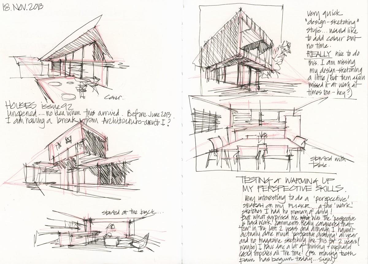 sketching architecture perspective 39 scribbles 39. Black Bedroom Furniture Sets. Home Design Ideas