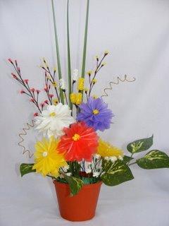 ... sedotan bekas bisa menjadi bunga nan cantik contoh gambar dari bunga