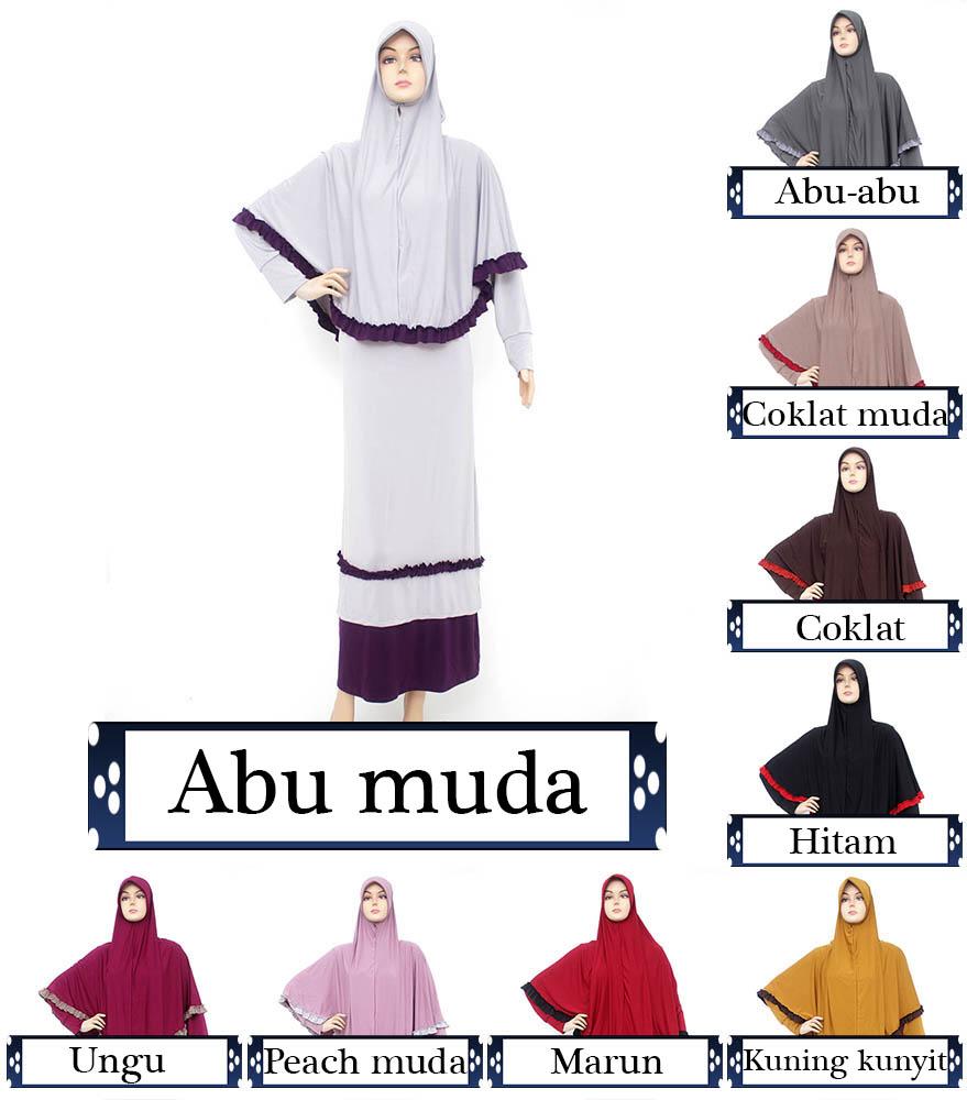 Gamis Kaos Spandek Gks515 Busana Muslim Baju Muslim