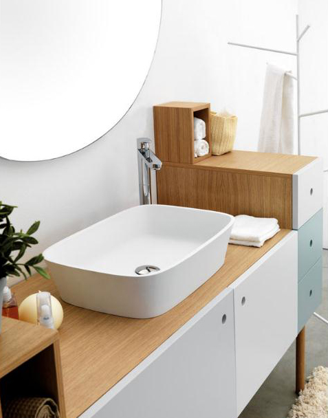 Creative, Multifunctional Versatile Furniture for Bathroom