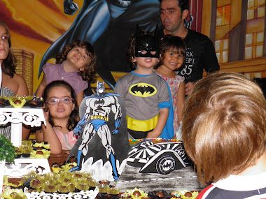 Festa do Batmam do William