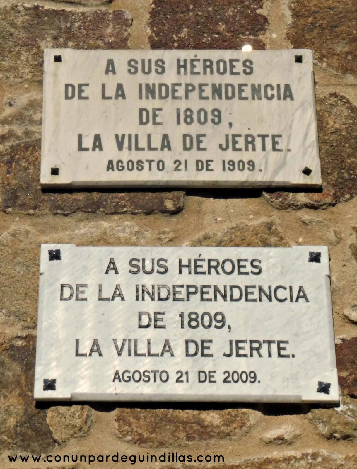 A los héroes de Jerte