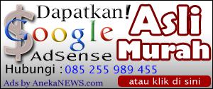 Jasa Pembuatan Akun Google Adsense Murah dan Cepat