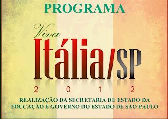 "E.E. PROFª OLZANETTI GOMES - FINALISTA DO PROGRAMA ""VIVA ITÁLIA"""
