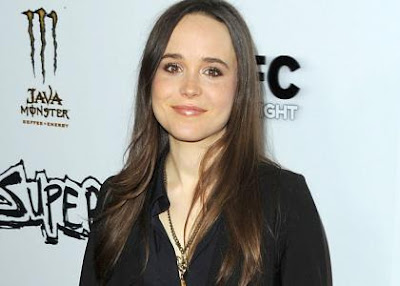 Ellen-Page-Receives Death-Threats-from-Twitter-Follower