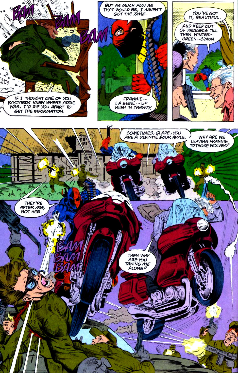 Deathstroke (1991) Issue #28 #33 - English 7