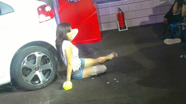 Sandra Cherie - Sexy Car Wash - IIMS 2013