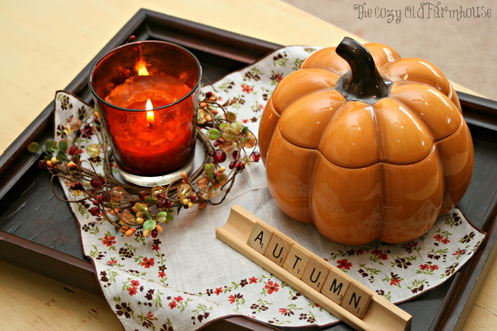 "The Cozy Old ""Farmhouse"" Farmhouse Fall Decor Part 1"