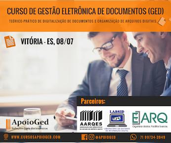Curso Gestão Eletrônica de Documentos