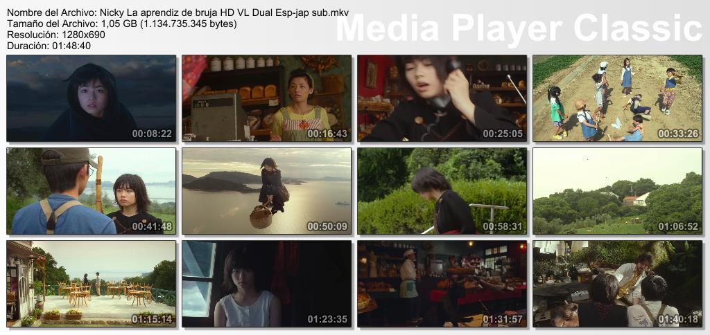 Nicky La aprendiz de bruja (Remake) BDRip HD VL Dual Esp-jap